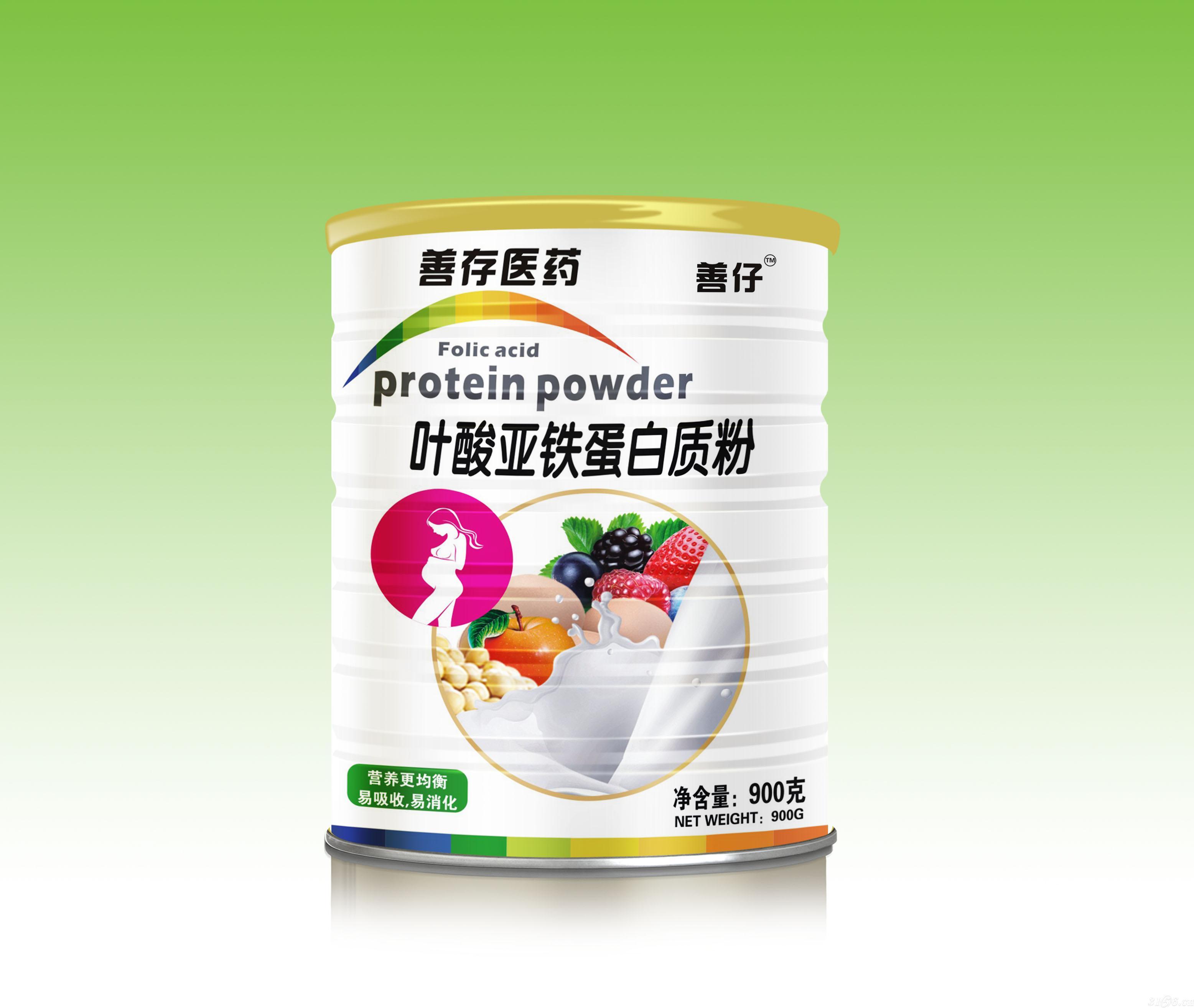 叶酸亚铁蛋白质粉-善仔