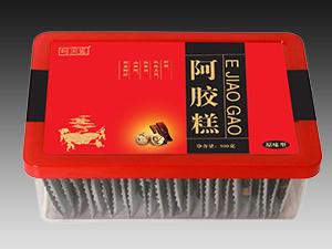 原味型塑料盒阿胶糕招商