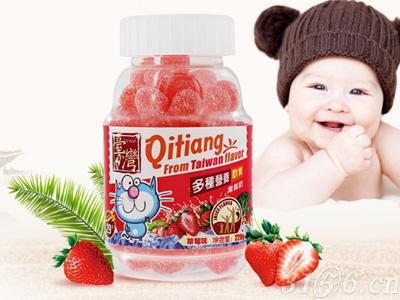 齐天盖-多种营养软糖(草莓味)