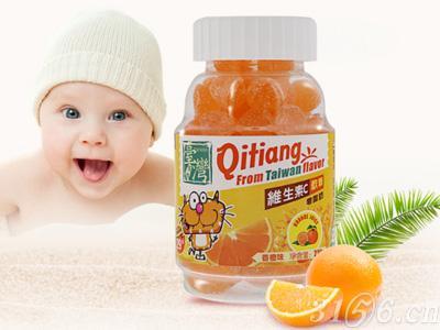 齐天盖-维生素C软糖(香橙味)