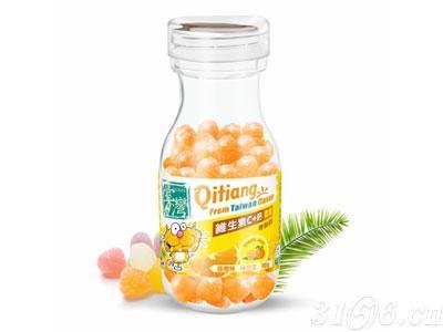 齐天盖-维生素C+钙软糖