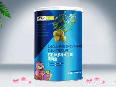 桶裝鈣鐵鋅多種維生素清清寶